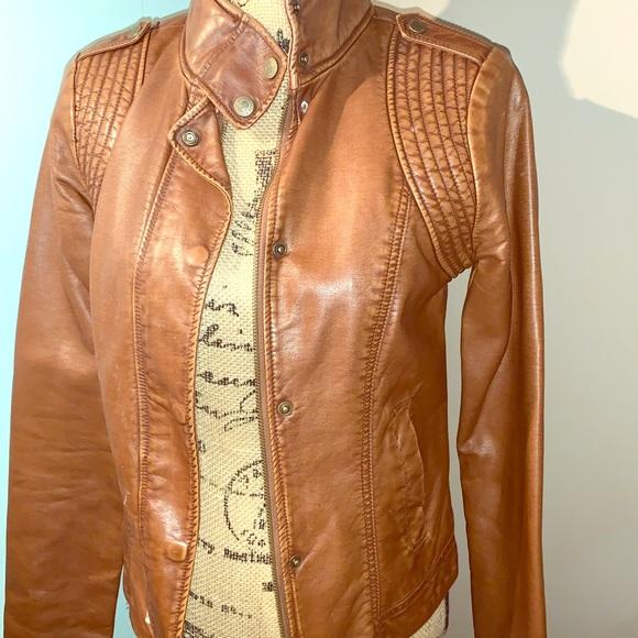 Aeropostale Jackets & Blazers - Aeropostale faux leather bomber jacket